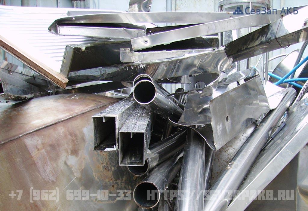 НЕРЖАВЕЮЩАЯ сталь (габ.) 10% Ni